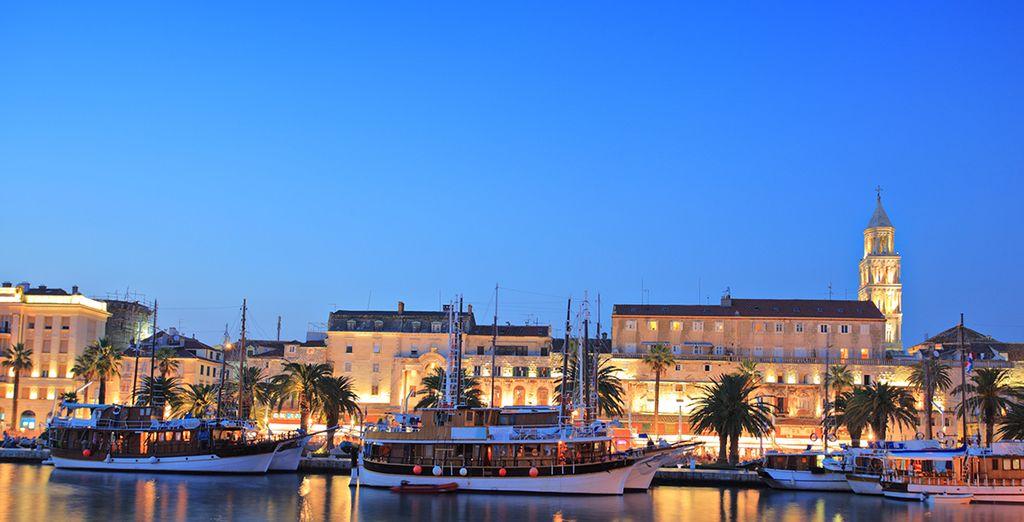 Vous ferez route vers la Croatie, pour une dernière escale à Split