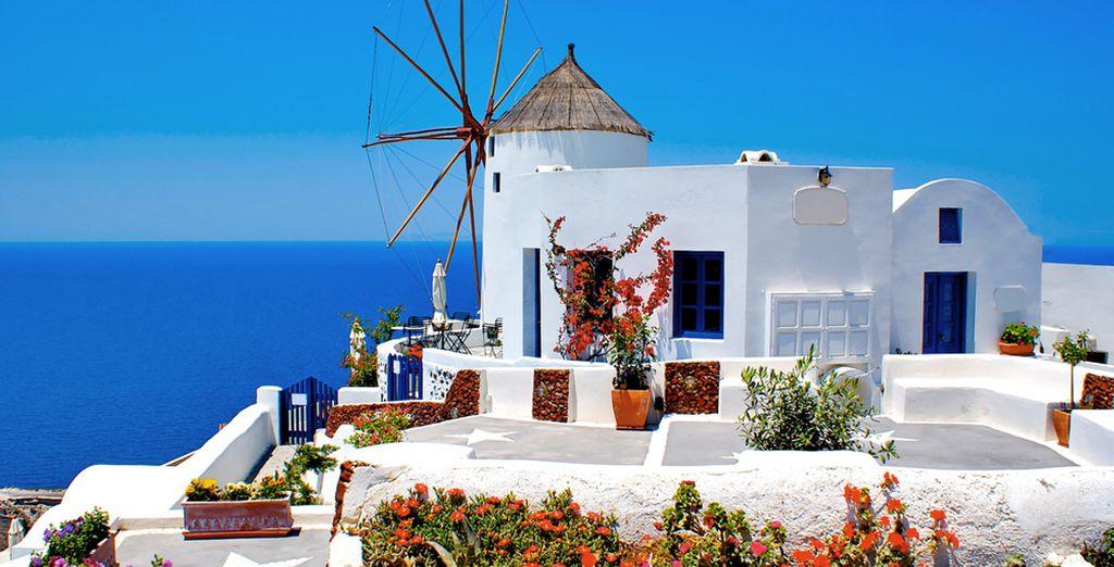 Bon séjour aux Cyclades !