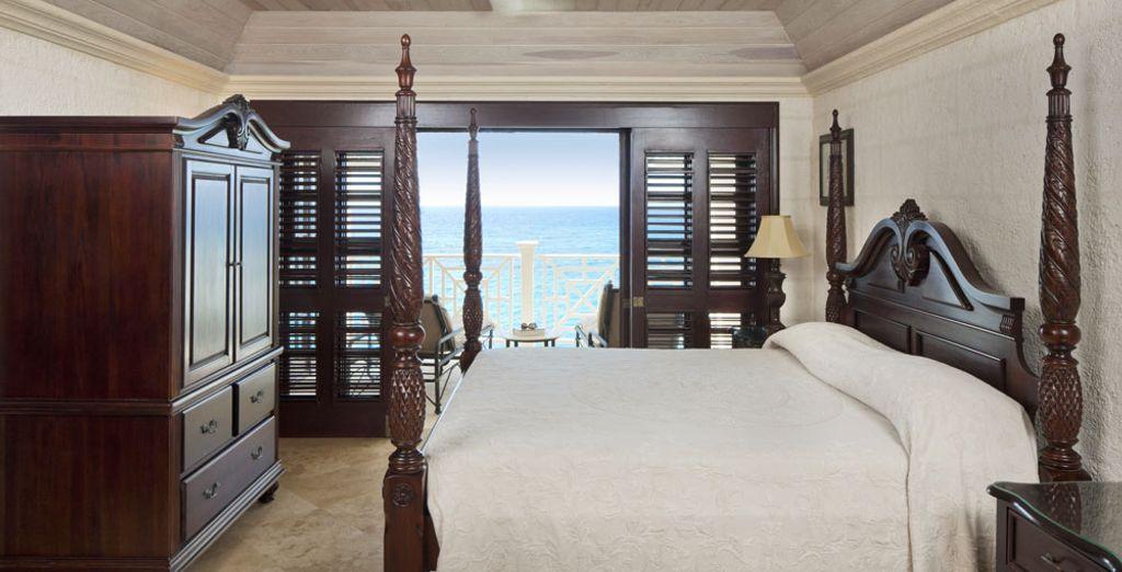 Optez également pour la Suite 1 Chambre avec piscine et vue mer