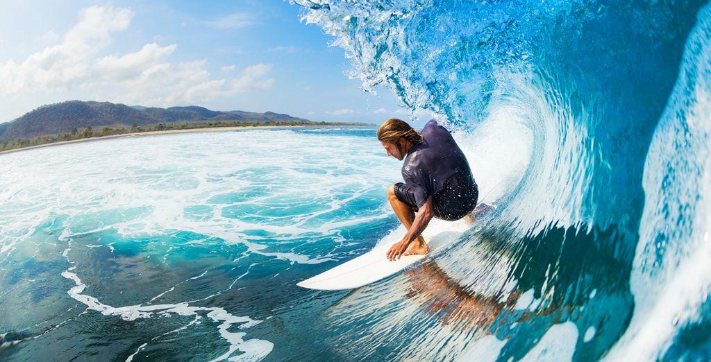 Evasion à Hawaii et surf sur les vagues du pacifique