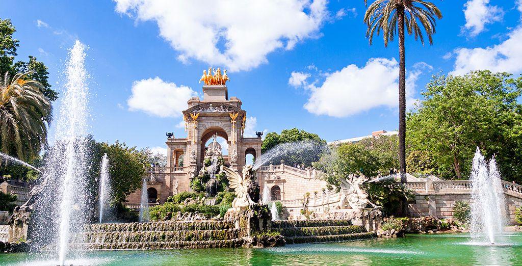 Partez pour un voyage à Barcelone