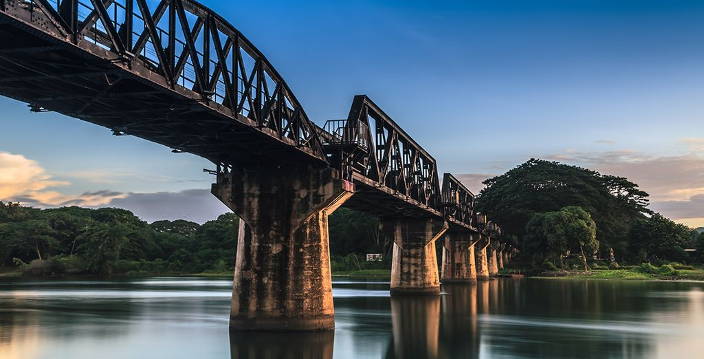 Avant que vous ne preniez la direction de la fameuse rivière Kwai !