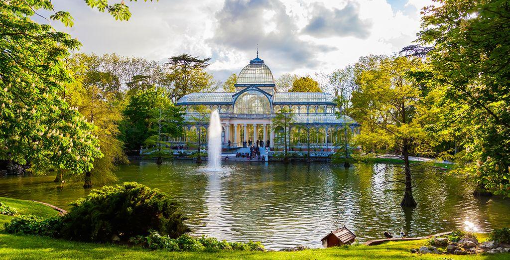 Photographie du parc del Retiro*