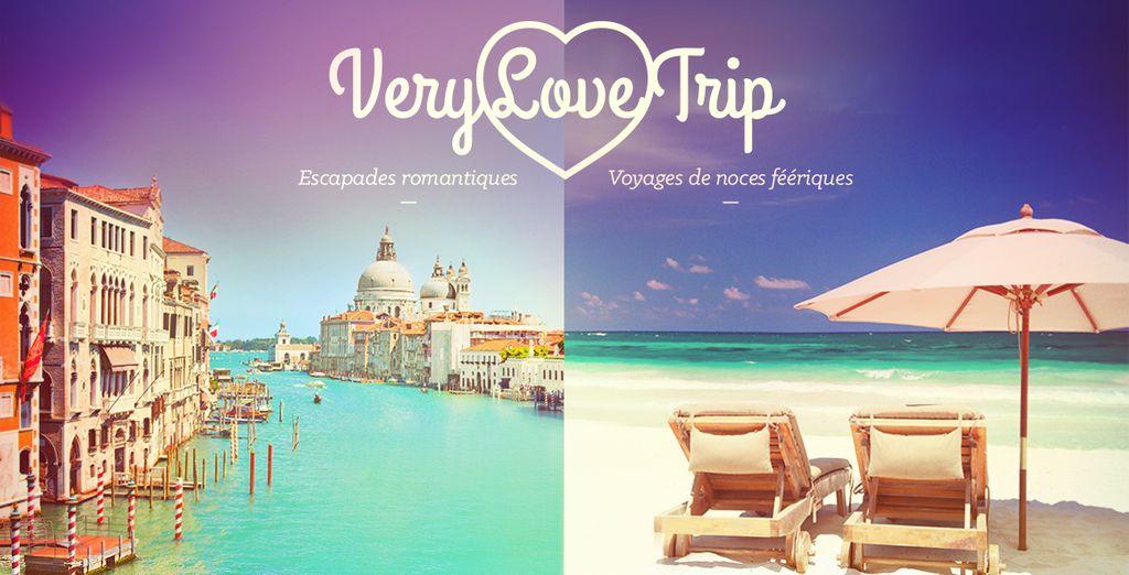 Réservez vite votre séjour romantique !