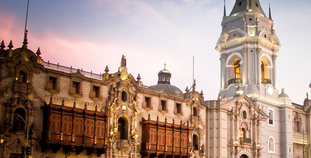 Faites une halte à Lima, capitale et ville cotière