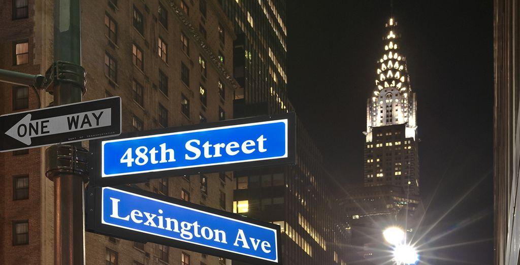 C'est à New York que débutera votre séjour américain...