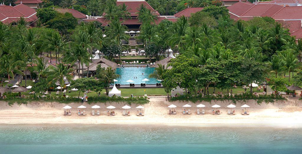 La seconde partie de votre séjour se déroulera sur la plage de Jimbaran...