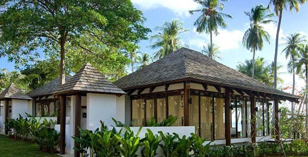 Les logements - The Vijitt Resort ***** Phuket