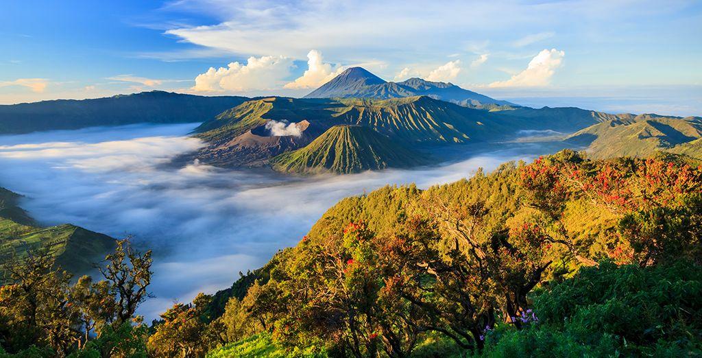 Photographie du mont Bromo en Indonésie