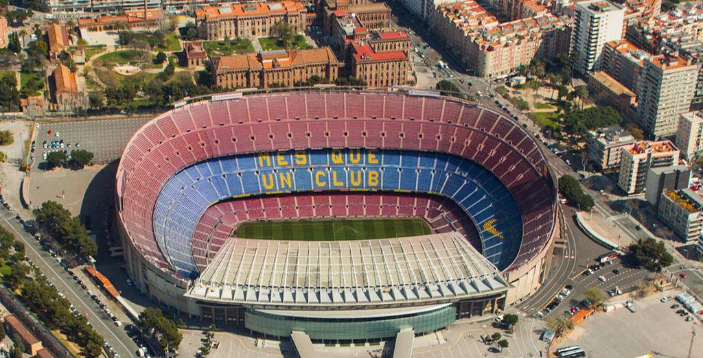Ou encore le stade du Camp Nou