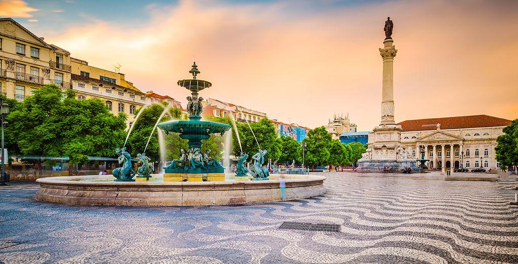Cap au Sud ! - Hôtel Santa Justa Lisboa 4* Lisbonne