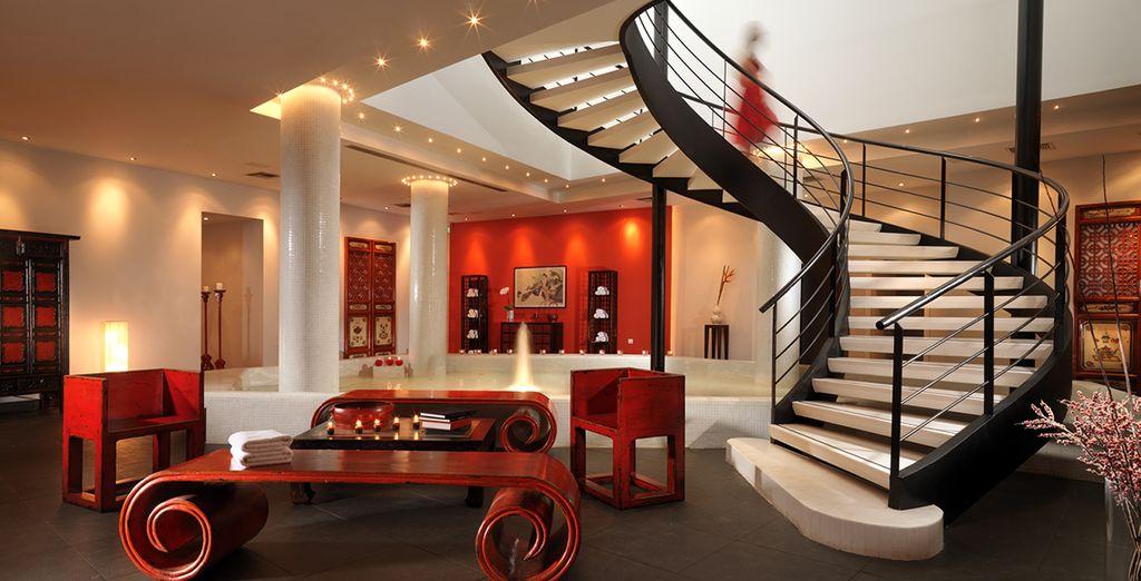 Puis offrez-vous une escale au Spa Euphoria