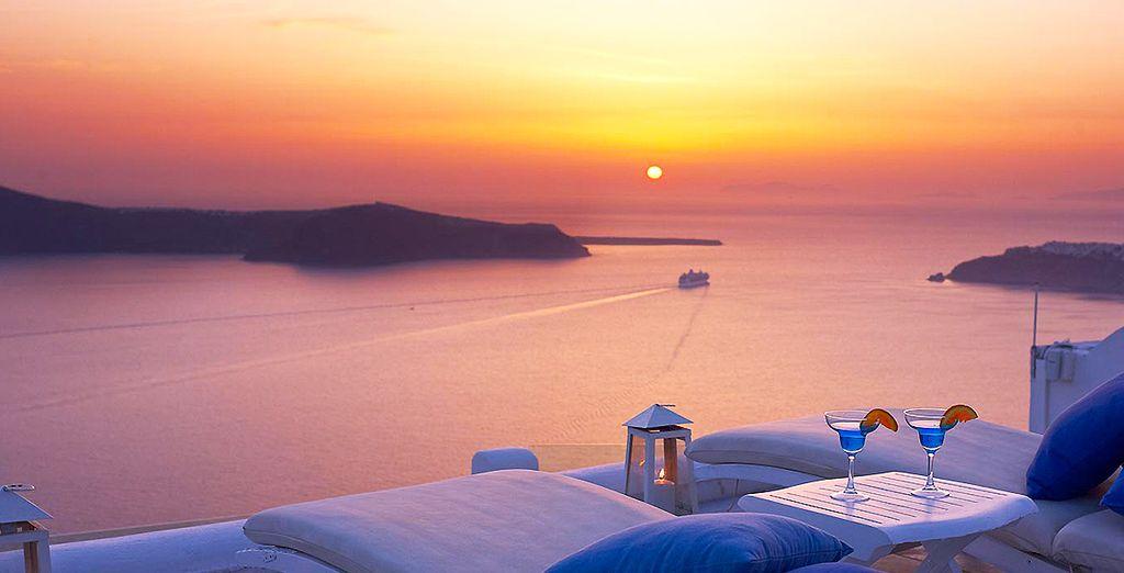 Vous rêvez d'une escapade idyllique sur l'île de Santorin?