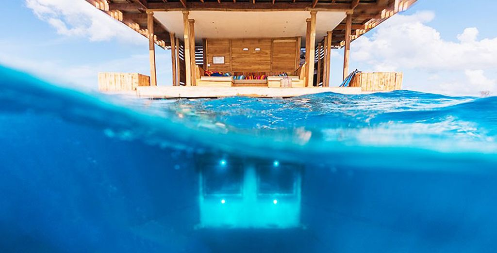 Et passez une nuit sous l'océan dans l'extraordinaire