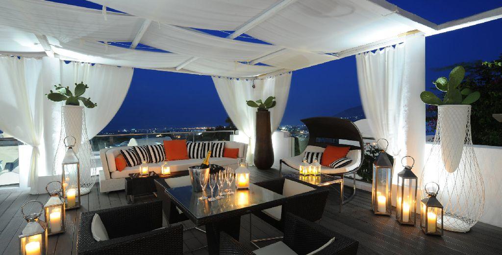 Et les apéritifs en terrasse lors de douces soirées...