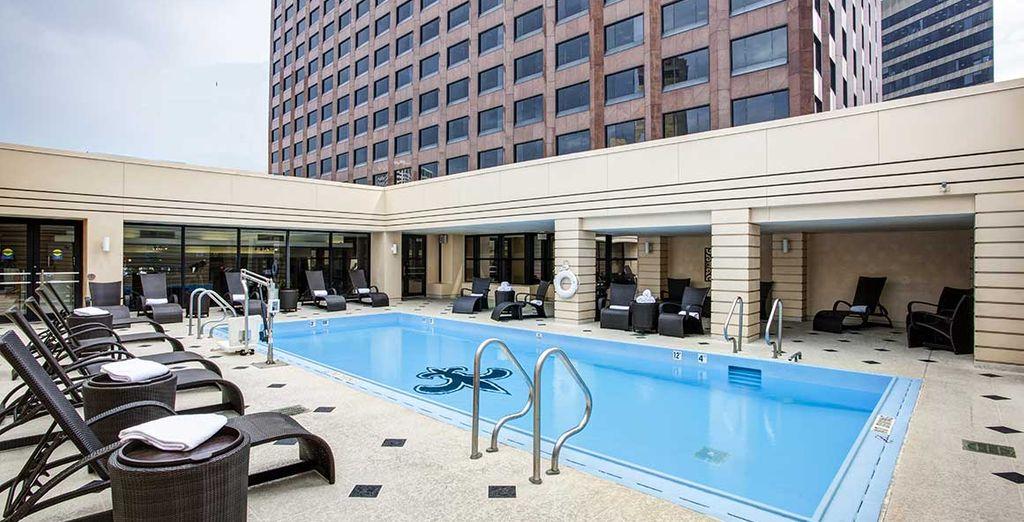 Vous poserez vos valises à l'hôtels New Orleans Intercontinental 4*