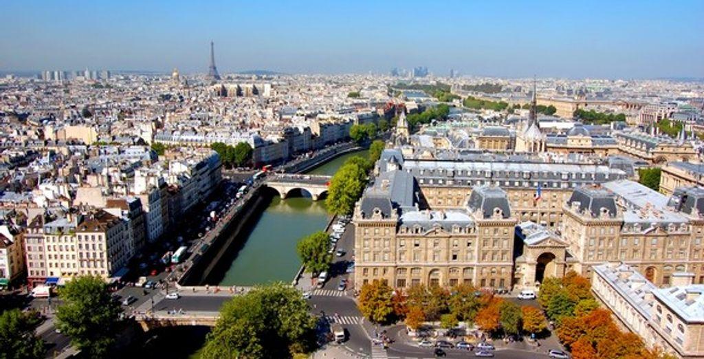 Vue de Paris - Hôtel Acte V *** - Paris - France Paris
