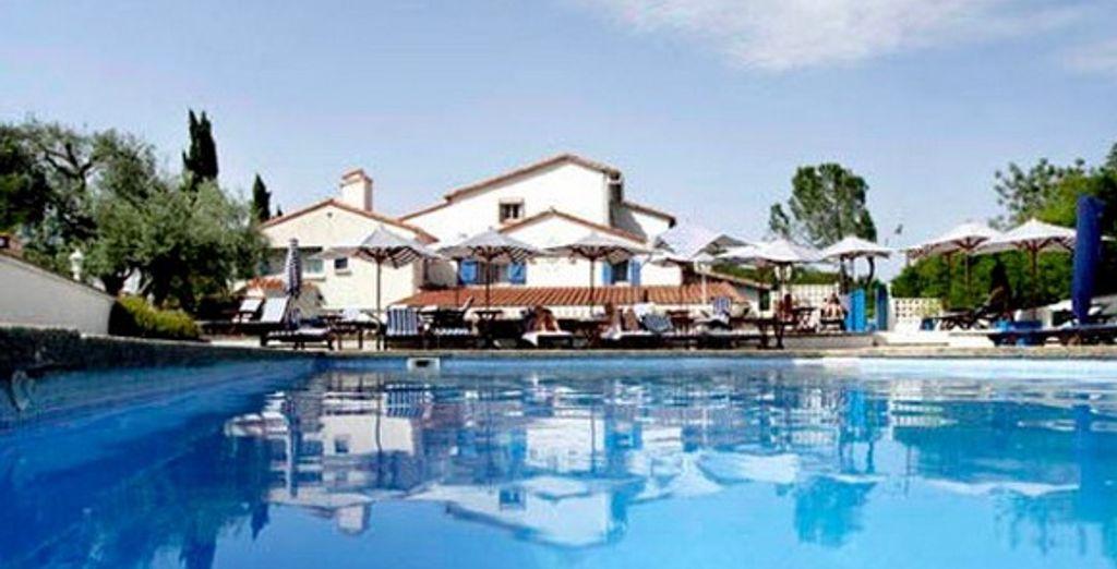 La piscine - Hôtel La Terrasse au Soleil - Ceret - France Céret