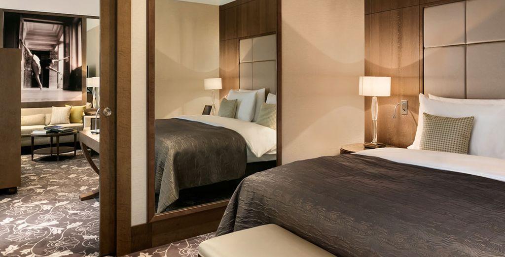 Hôtel de luxe avec chambre double spacieuse et tout confort à Vienne, Autriche