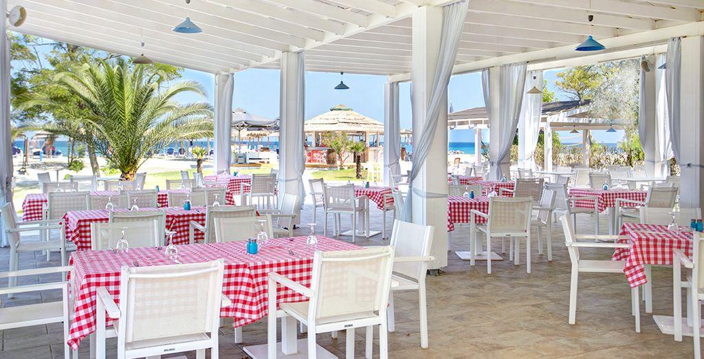 A la taverne grecque...