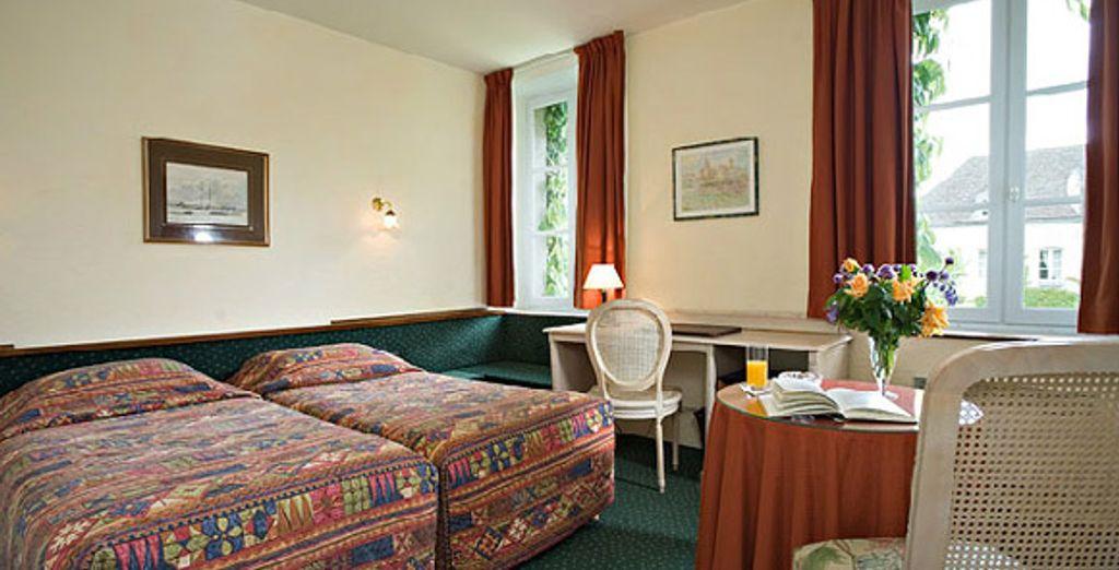 La chambre Classique - Hôtel Les Ursulines Autun