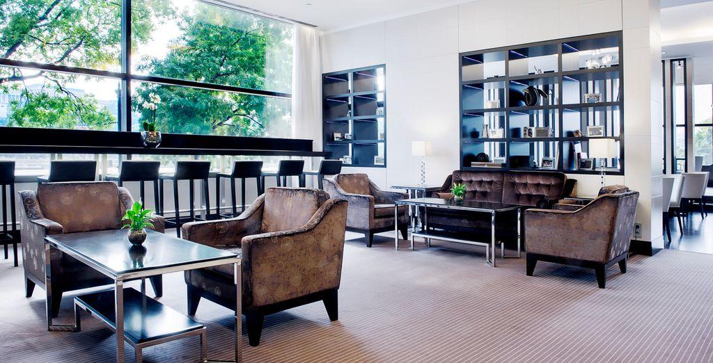 Et offrez-vous en option l'accès à l'Executive Lounge vous réservant de nombreux avantages