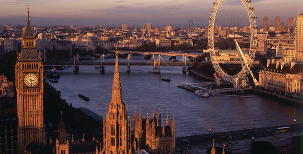 Vue de Londres - The Marriott Marble Arch **** Londres