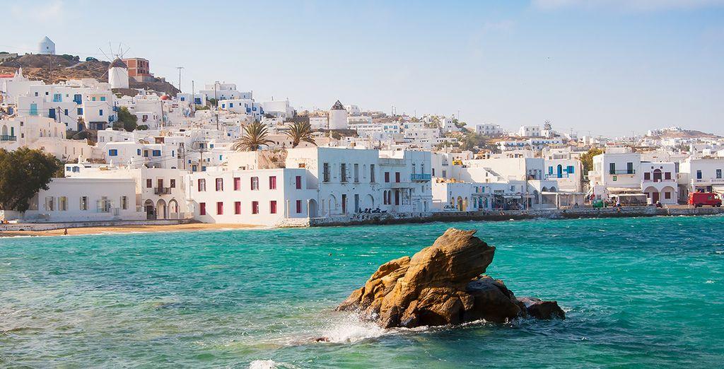 Bon séjour dans les Cyclades !