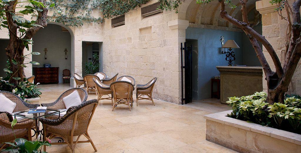 A vous le décor historique d'un hôtel Relais & Châteaux !
