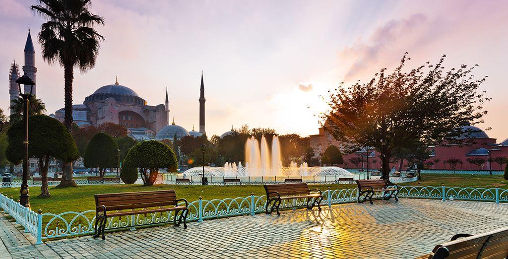 Vous découvrirez les merveilles historiques d'Istanbul