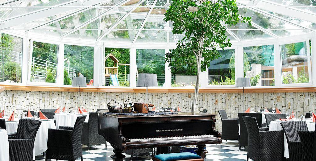 Hôtel haut de gamme 4 étoiles avec restaurant gastronomique