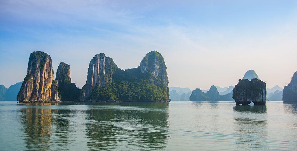 Ne manquez pas l'incomparable baie d'Ha Long