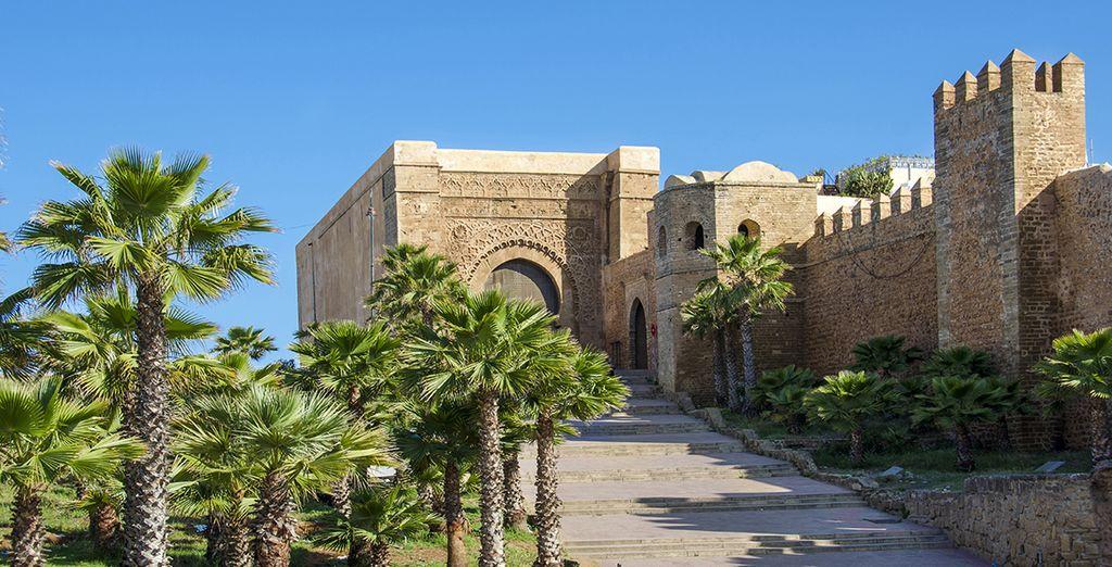 Vous aurez l'occasion de découvrir Rabat une ville pleine de merveilles