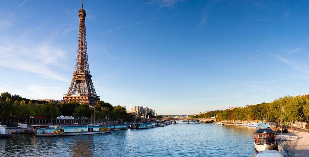 vous offrir une balade romantique sur la Seine