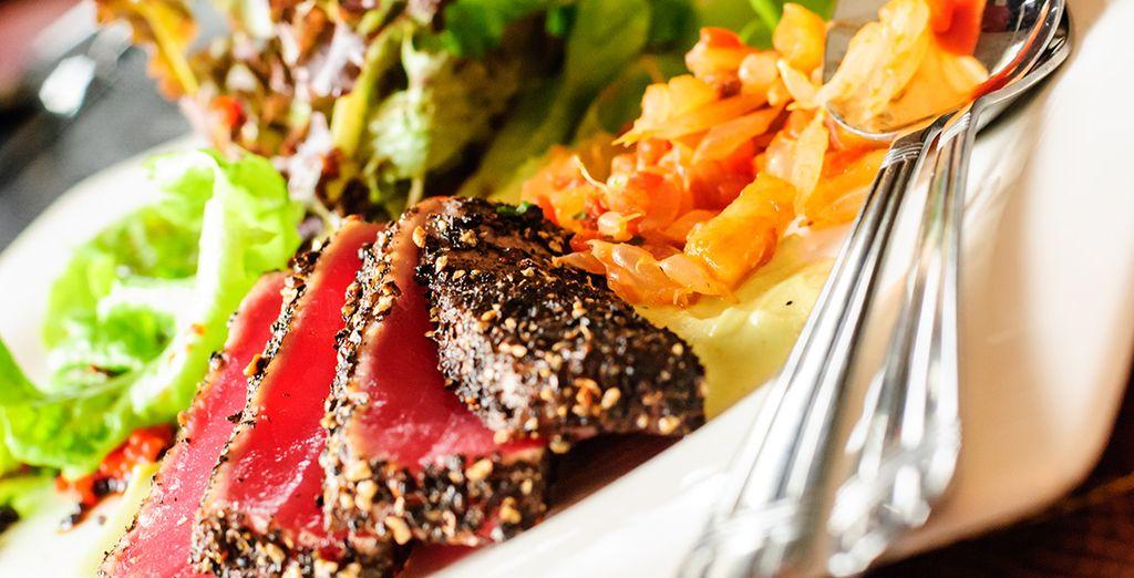 Et craquez pour la gastronomie locale : bistecca alla fiorentina !