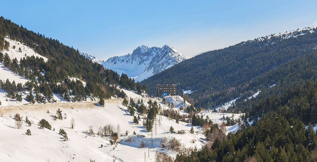 Laissez-vous séduire par les montagnes de l'Andorre.