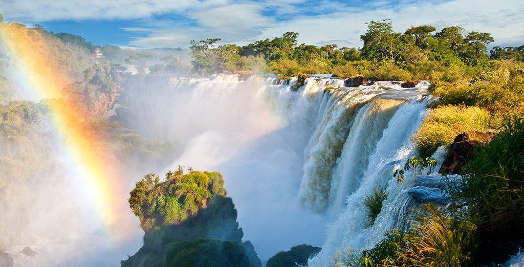 Nous vous emmènerons également à la découverte d'Iguaçu