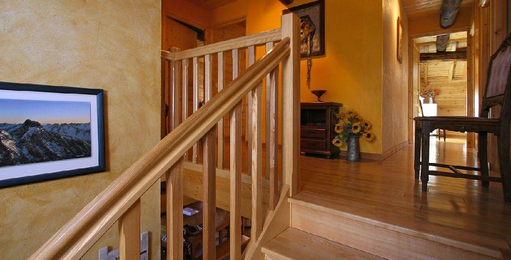 Ou bien vous pourrez choisir de vous installer à Mont de Lans dans une maison traditionnelle rénovée