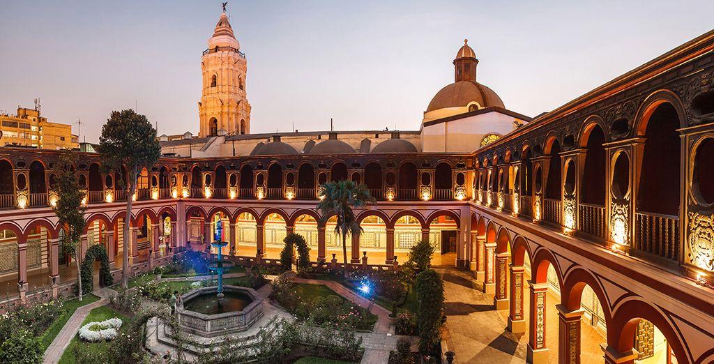 L'histoire commence à Lima... - Circuit Trésors du Pérou 13 jours / 11 nuits Lima