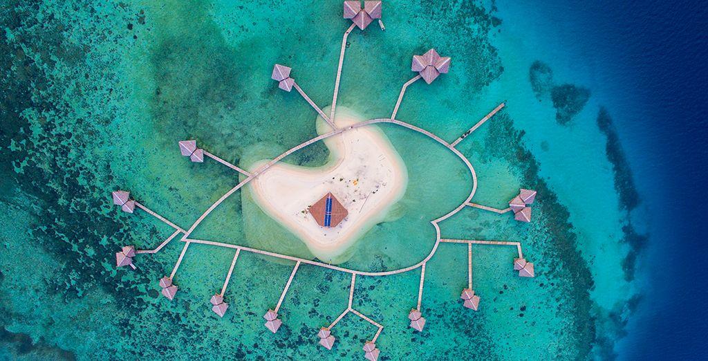 Pour parfaire ce séjour, quoi de mieux qu'une escapade enchanteresse sur l'île de l'Amour ?