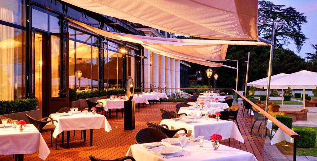 Le restaurant d'Anne-Sophie Pic, 2 étoiles au Michelin...