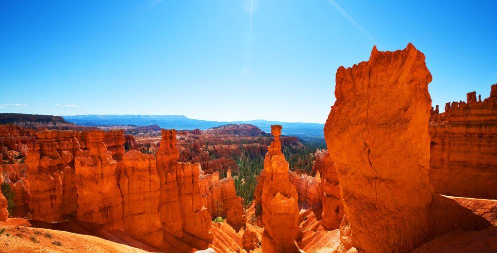 Vous découvrirez les célèbres canyons