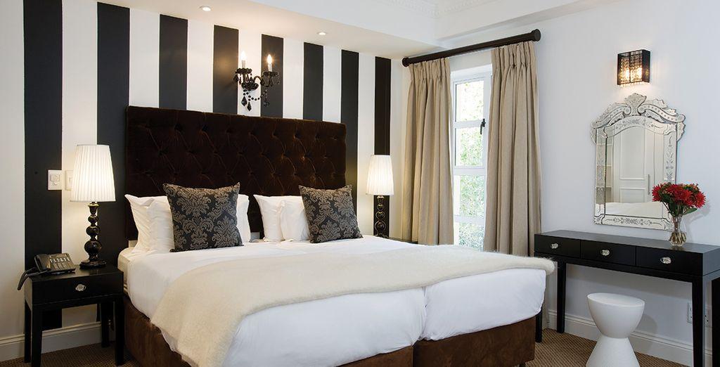 Vous serez confortablement installé en Luxury Appartement