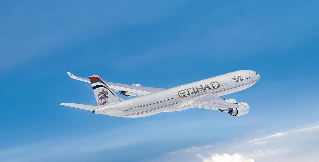 Vous toucherez du doigt le paradis avec Etihad Airways !