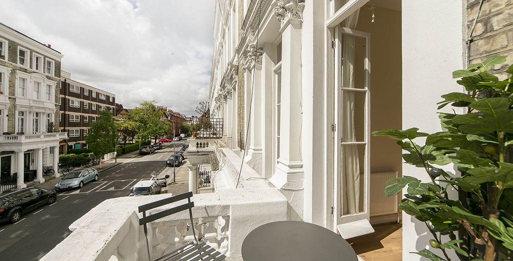 Appartement 1 : Le balcon