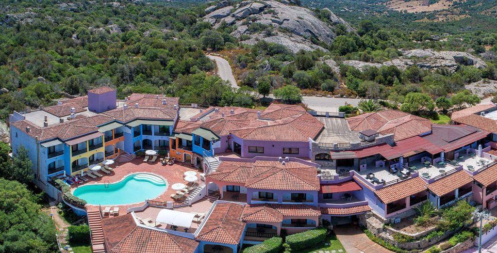 Bienvenue à l'hôtel Club Li Graniti