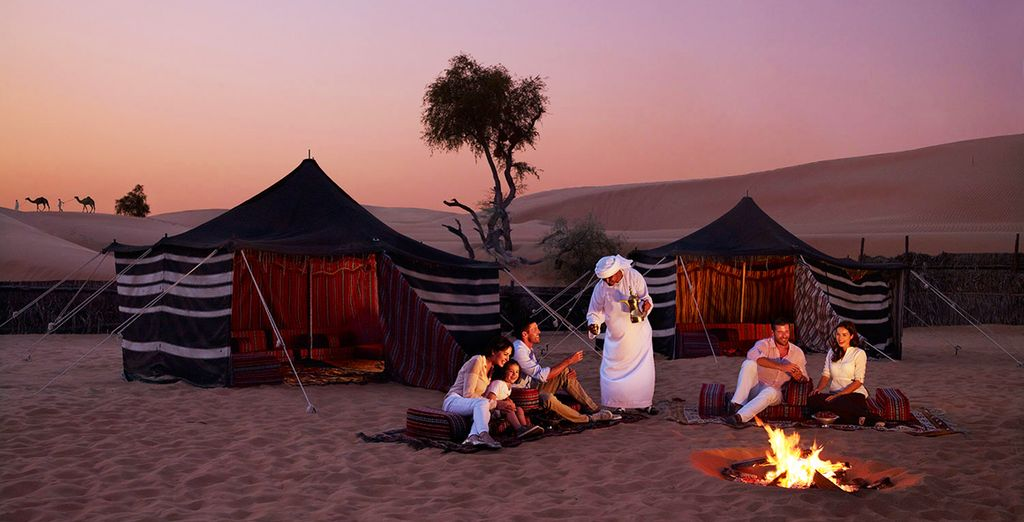 Au campement Arabian Nights Village !