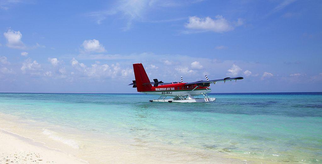 Survolez l'océan Indien... - Hôtel Mystère 5* aux Maldives Malé