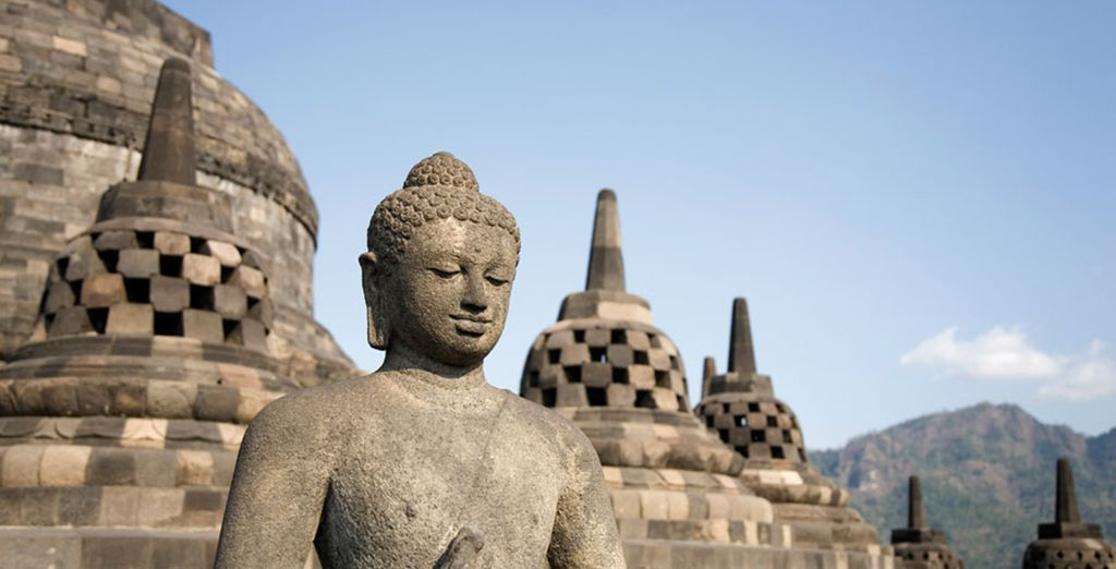 Vous serez émerveillé par les temples anciens et majestueux...