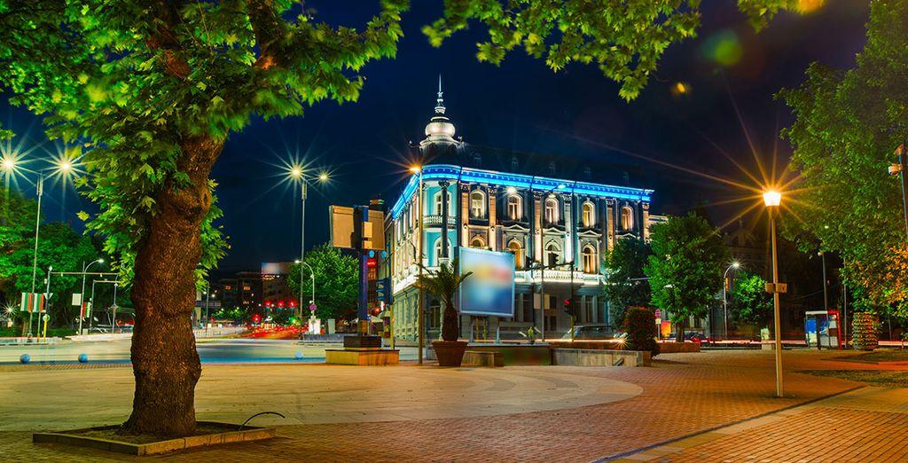 Photographie de la charmante ville de Varna